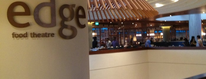 edge | food theatre is one of #Singapore.