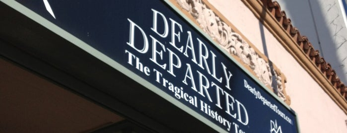Dearly Departed Tours is one of Nikki Kreuzer's Offbeat L.A..