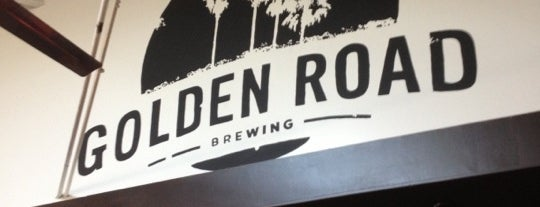 Golden Road Brewing is one of Los Angeles.