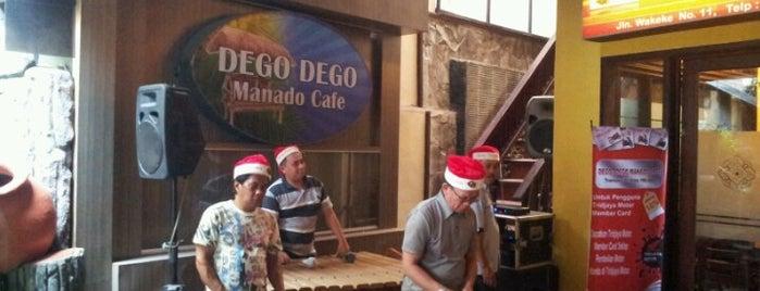 Dego-Dego Manado Cafe is one of Top picks for Cafés.