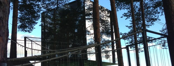 The Mirror Cube, Treehotel is one of Europa.