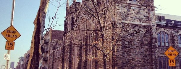 Abyssinian Baptist Church is one of New York.