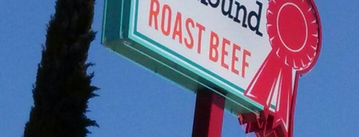 Top Round Roast Beef is one of Favorite L.A. Spots.