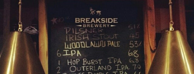 Breakside Brewery is one of uwishunu portland.