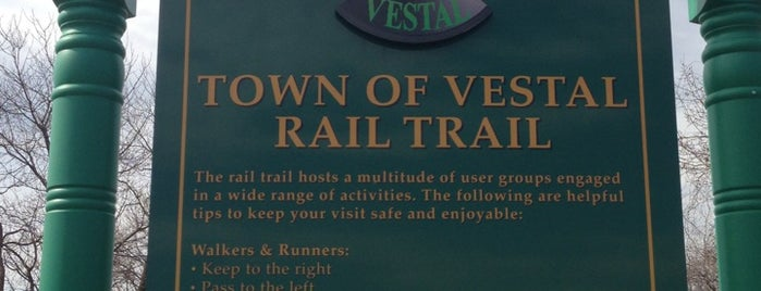 Vestal Rail Trail is one of Hiking.