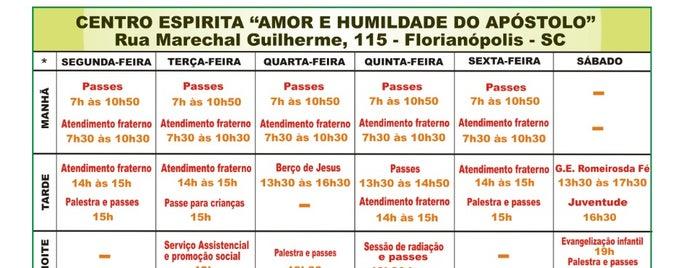 Centro Espírita Amor e Humildade do Apóstolo is one of Lugares que já dei checkin.