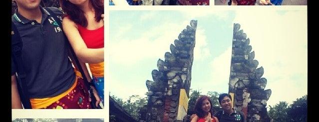 Pura tampak siring is one of Bali.