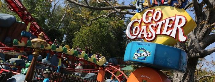 Gadget's Go Coaster is one of Disneyland Fun!!!.