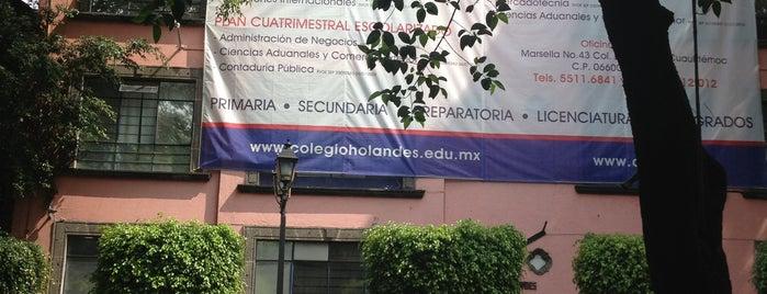 Instituto de Estudios Superiores del Colegio Holandes is one of DF Todas.