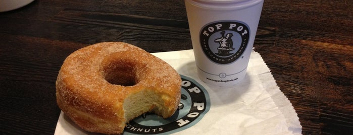 Top Pot Doughnuts is one of Been There, Ate It.