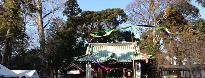 深見神社 is one of 海老名・綾瀬・座間・厚木.