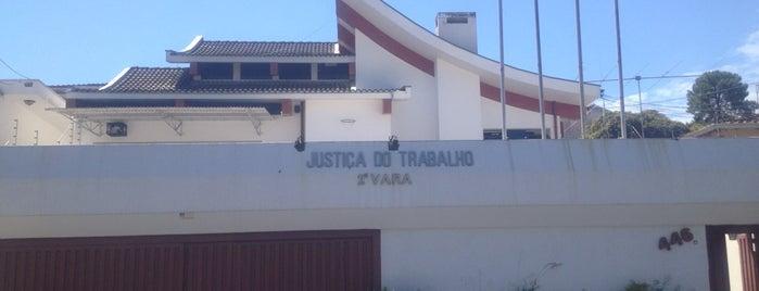 Justiça do Trabalho - 2• Vara do Trabalho is one of Hotspots WIFI Poços de Caldas.