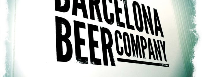 Barcelona Beer Company is one of A comer y a beber.