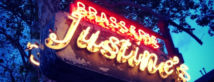 Justine's Brasserie is one of The 15 Best Cozy Places in Austin.