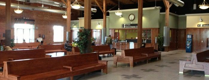 Amtrak Station - Durham (DNC) is one of Trains - North Carolina.