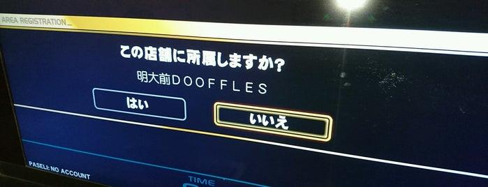 Dooffles is one of beatmania IIDX 設置店舗.