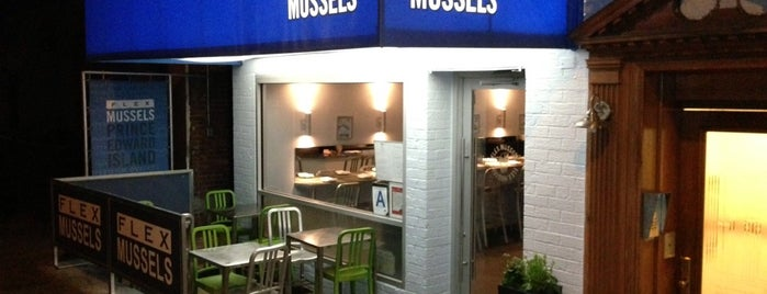 Flex Mussels is one of NYC Manhattan East 65th St+.
