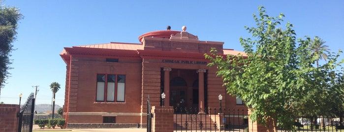 Carnegie Center & Library Park is one of Landmarks of Interest for J-Students.
