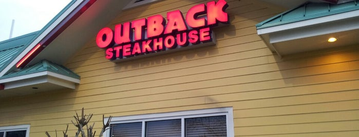 Outback Steakhouse is one of Top 10 restaurants when money is no object.