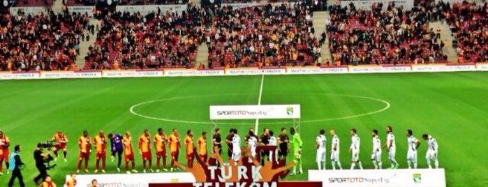 Türk Telekom Stadyumu is one of Kuyumcu.