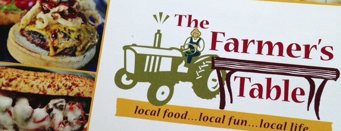 The Farmer's Table is one of Favorite Eateries in Spartanburg, SC.