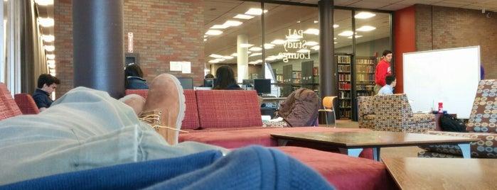 PAL Study Lounge is one of Boston University.