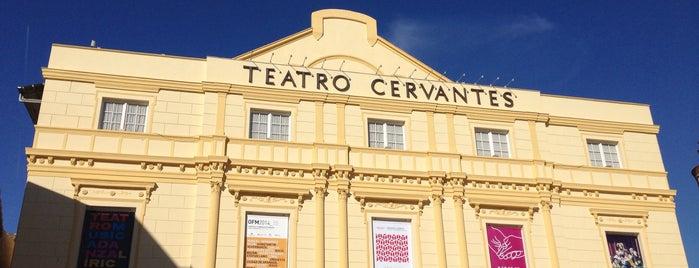 Teatro Cervantes is one of Qué visitar en Málaga.