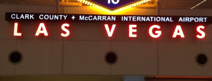 McCarran International Airport (LAS) is one of My Airports.