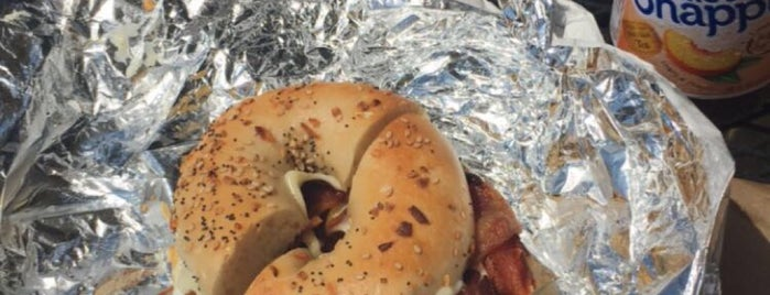 Hot Bagels & More is one of Bbq pickup.