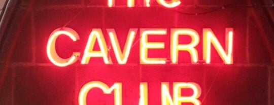 The Cavern Club is one of Liverpool places.