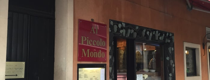 Al Piccolo Mondo is one of Restos.