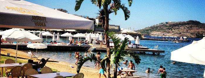 Moon Beach & Lounge is one of Bodrum.