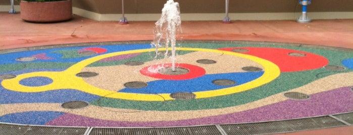 Liquid Layer Play Fountain is one of Walt Disney World - Epcot.