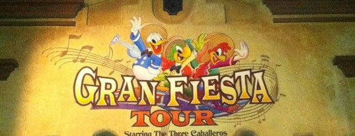 Gran Fiesta Tour Starring the Three Caballeros is one of Walt Disney World - Epcot.