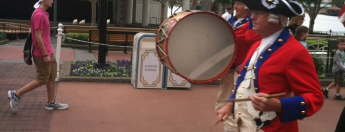 Spirit Of America Fife And Drum Corps is one of Walt Disney World - Epcot.