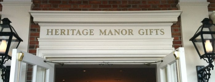Heritage Manor Gifts is one of Walt Disney World - Epcot.