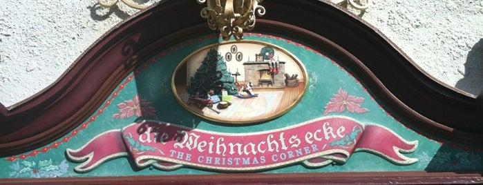 Die Weihnachts Ecke is one of Walt Disney World - Epcot.