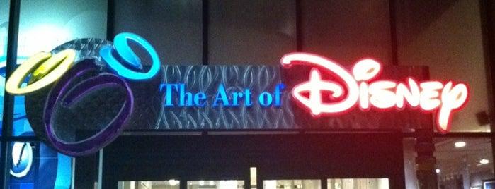 The Art of Disney is one of Walt Disney World - Epcot.