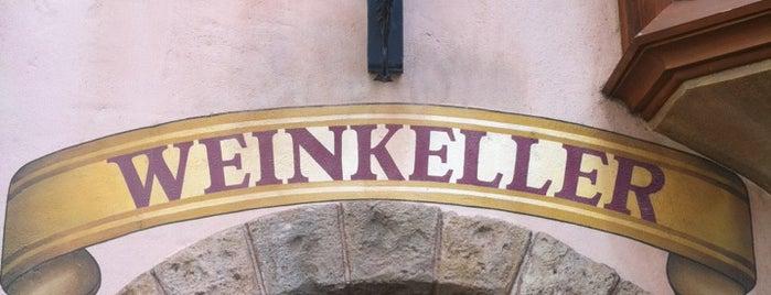 Weinkeller is one of Walt Disney World - Epcot.
