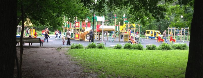 Чапаевский парк is one of Сады и парки Москвы.