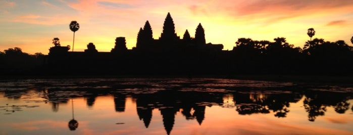 Angkor Wat is one of I Want Somewhere: Sights To See & Things To Do.