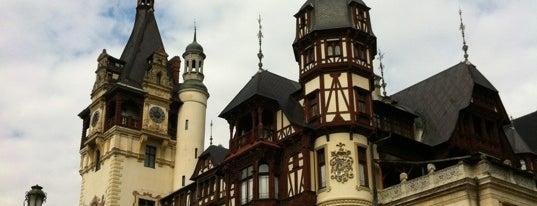 Castelul Peleș is one of Romania.