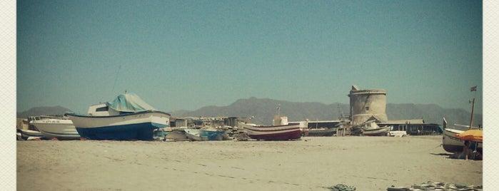 Playa San Miguel Cabo de Gata is one of Almería Playas.