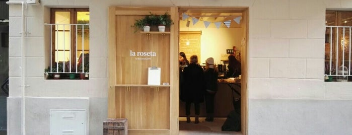 La roseta is one of Barcelona.