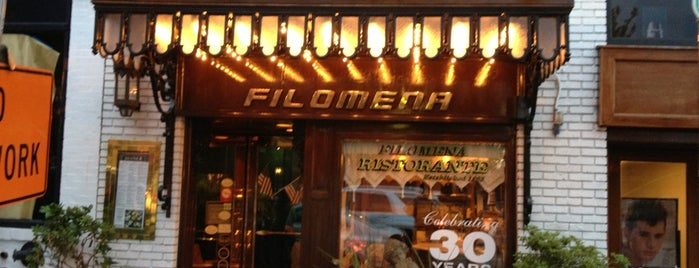 Filomena Ristorante is one of Food Critic!.