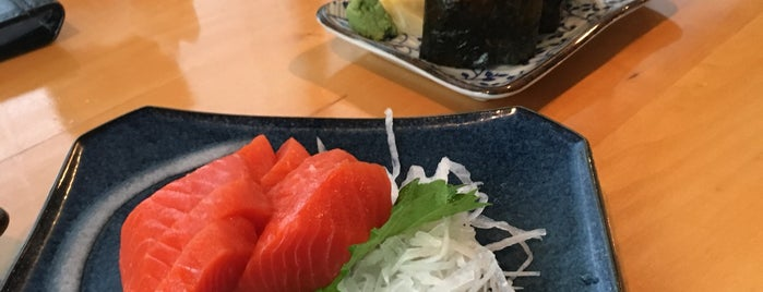 Toshi Sushi is one of Vancouver.