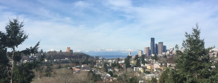 Mt Baker Ridge Viewpoint is one of Seattle's 400+ Parks [Part 1].
