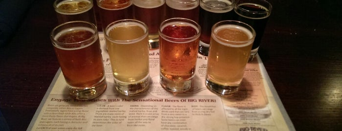 Big River Grille & Brewing Works is one of Places I've ate at.