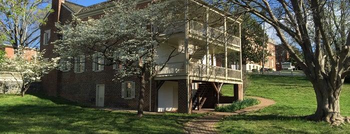 Andrew Johnson Home is one of Mr. President, Mr. President....
