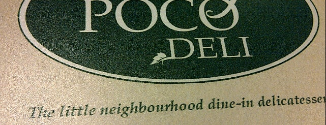 Poco Deli is one of Uber Yogurt.